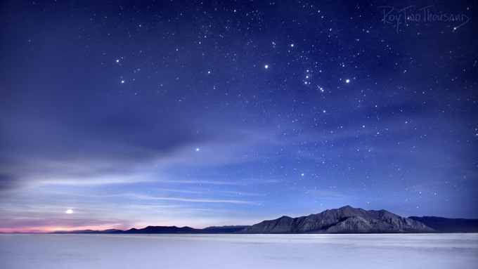 Razorback Orion Moonrise