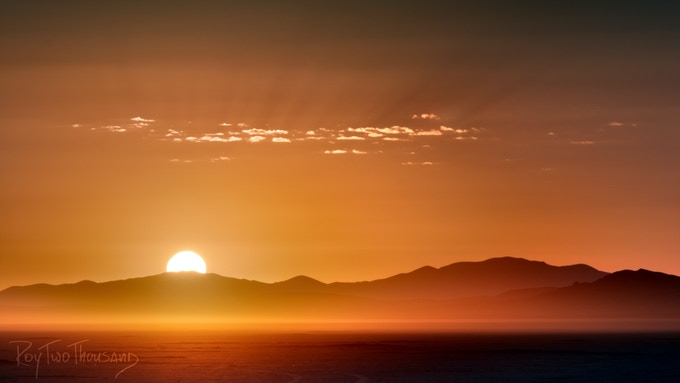 Black Rock Sunrise