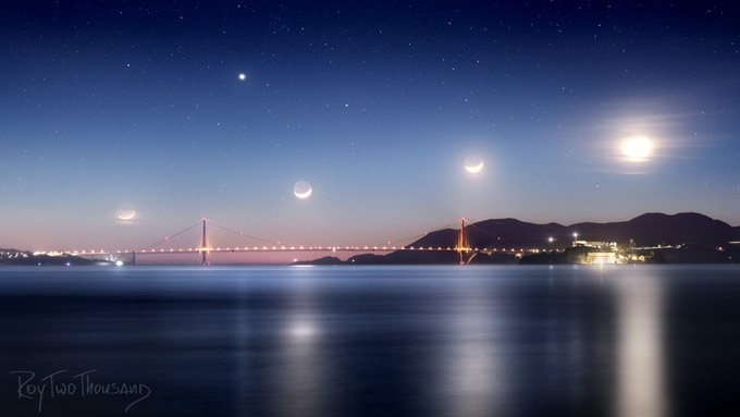Golden Gate Moonsets
