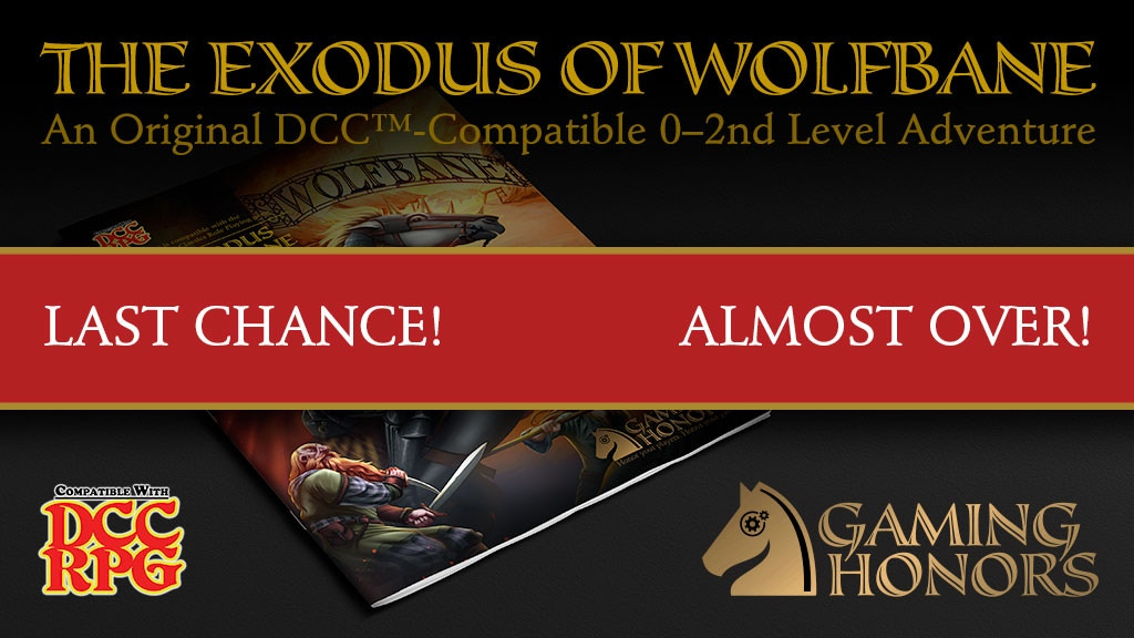 The Exodus of Wolfbane, An Epic 0-2nd-Level DCC RPG Module project video thumbnail