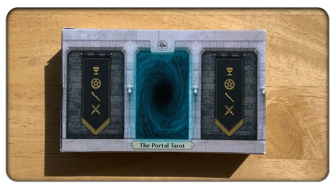 A Print-on-Demand copy of The Portal Tarot: The Apprentice.