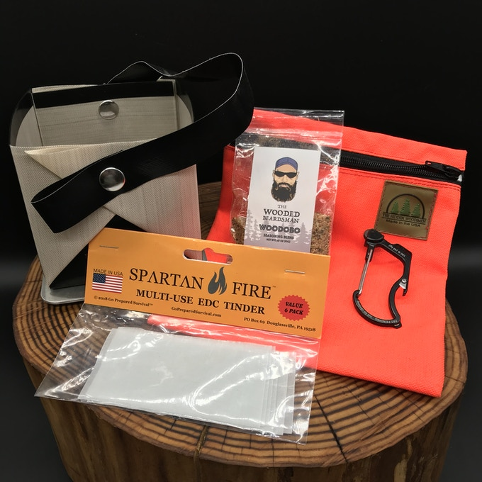 WARM AND WOODSEY FIRE KIT POUCH $65.00 Save $20.00!