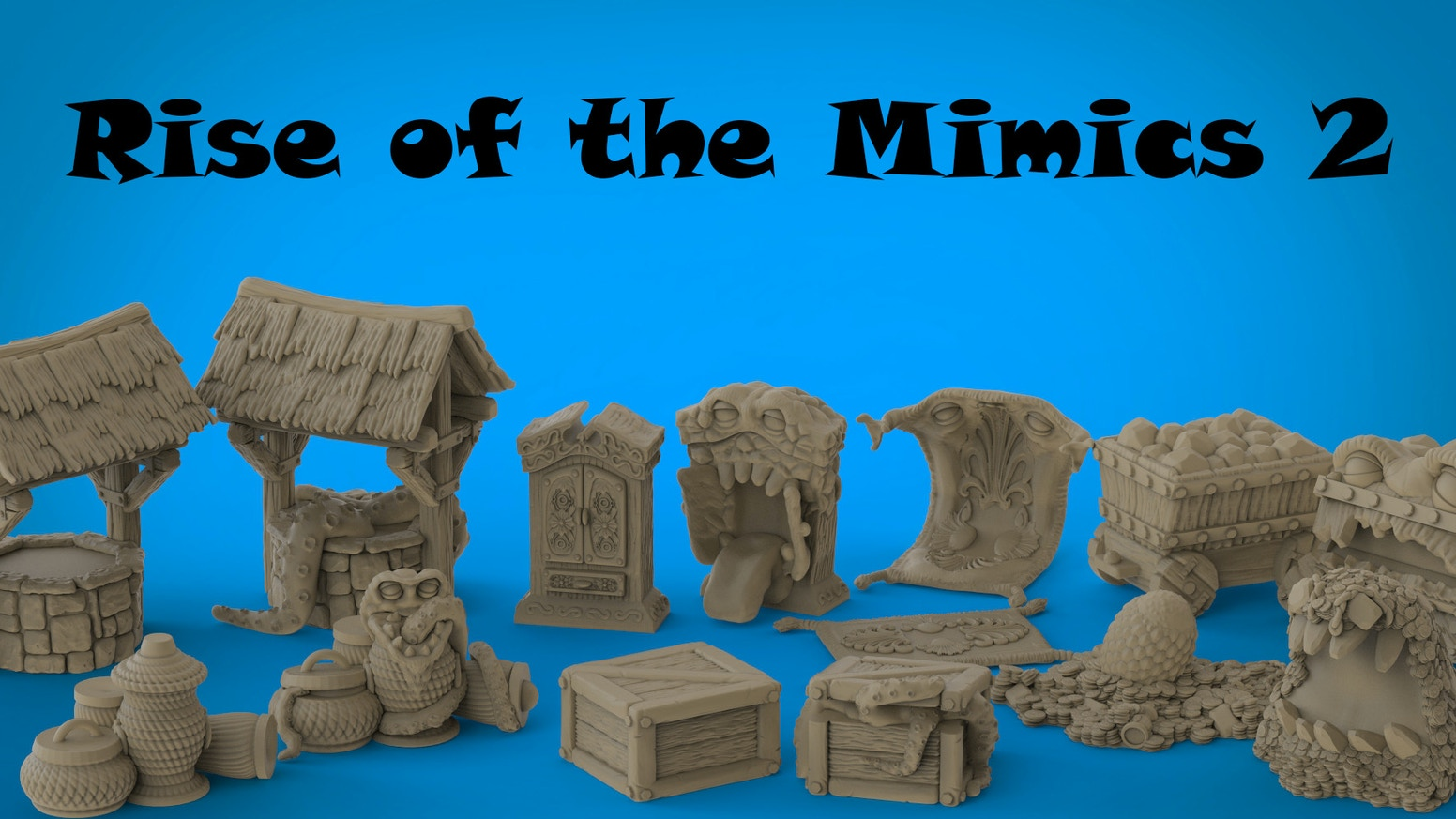 Expanding our line of resin mimics and matching non mimic accessories