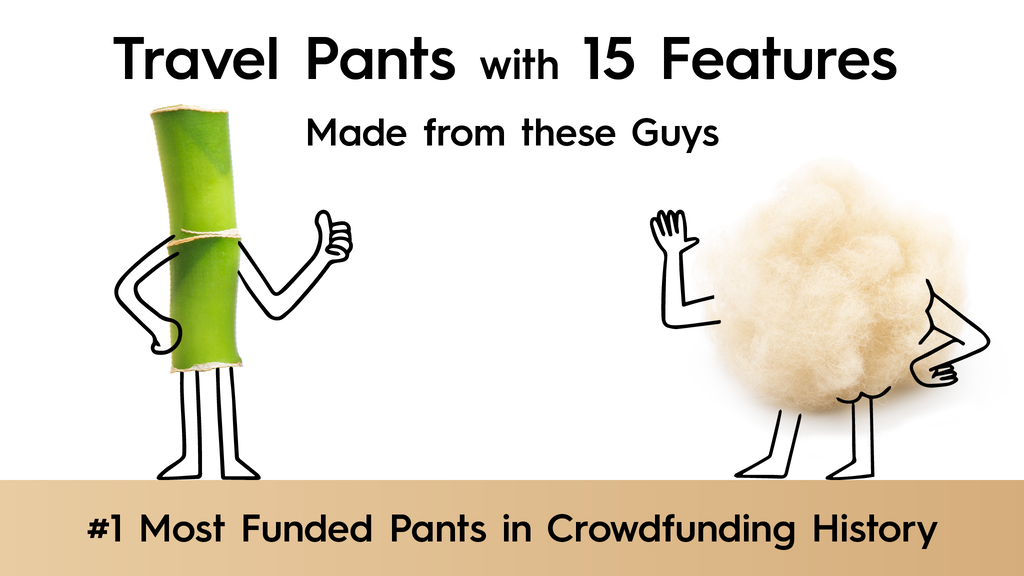 The World's Best TRAVEL PANTS with 15 Features    BauBax project video thumbnail