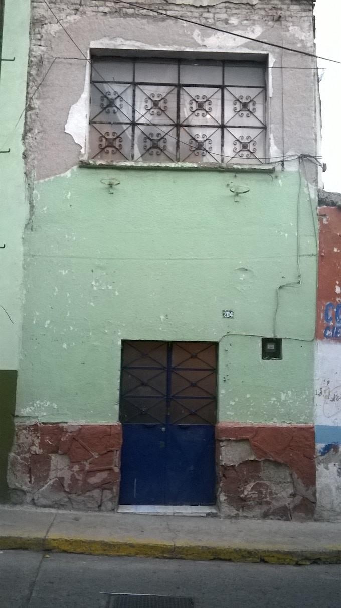 """Galeana 204 en el barrio de """"El Arbolito"""" Pachuca, Hidalgo, México."""