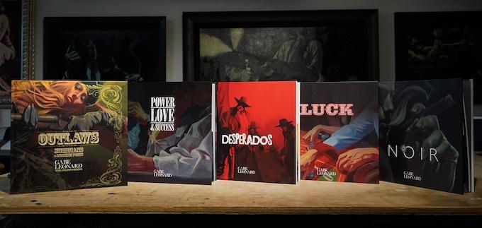 Prototype(s): Gabe Leonard Art Book Collection