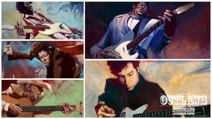 "Examples of Musicians & Drunken Poets, as Depicted in ""Outlaws, Musicians, and Drunken Poets"""