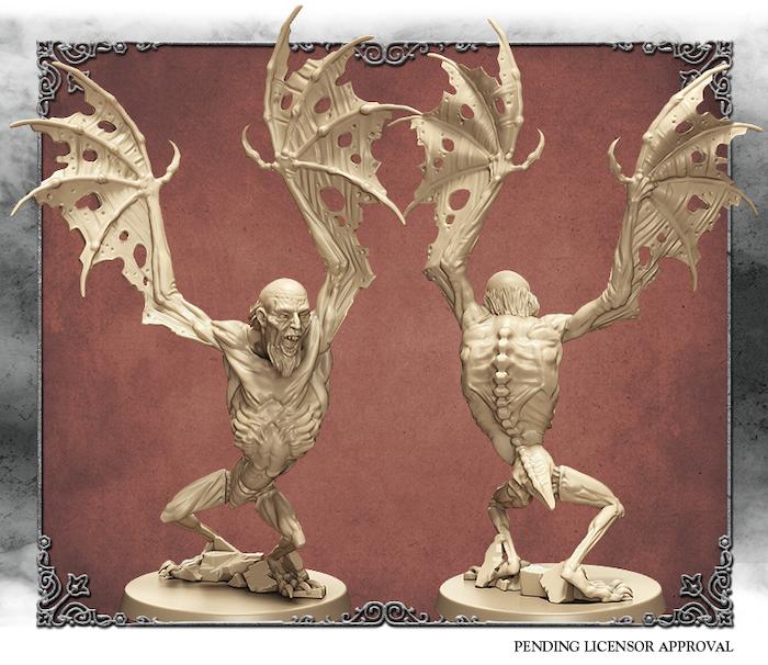 Elfenbein 3D-Rendering des verlorenen Kindes der Antike. Von Edgar Ramos geformt.