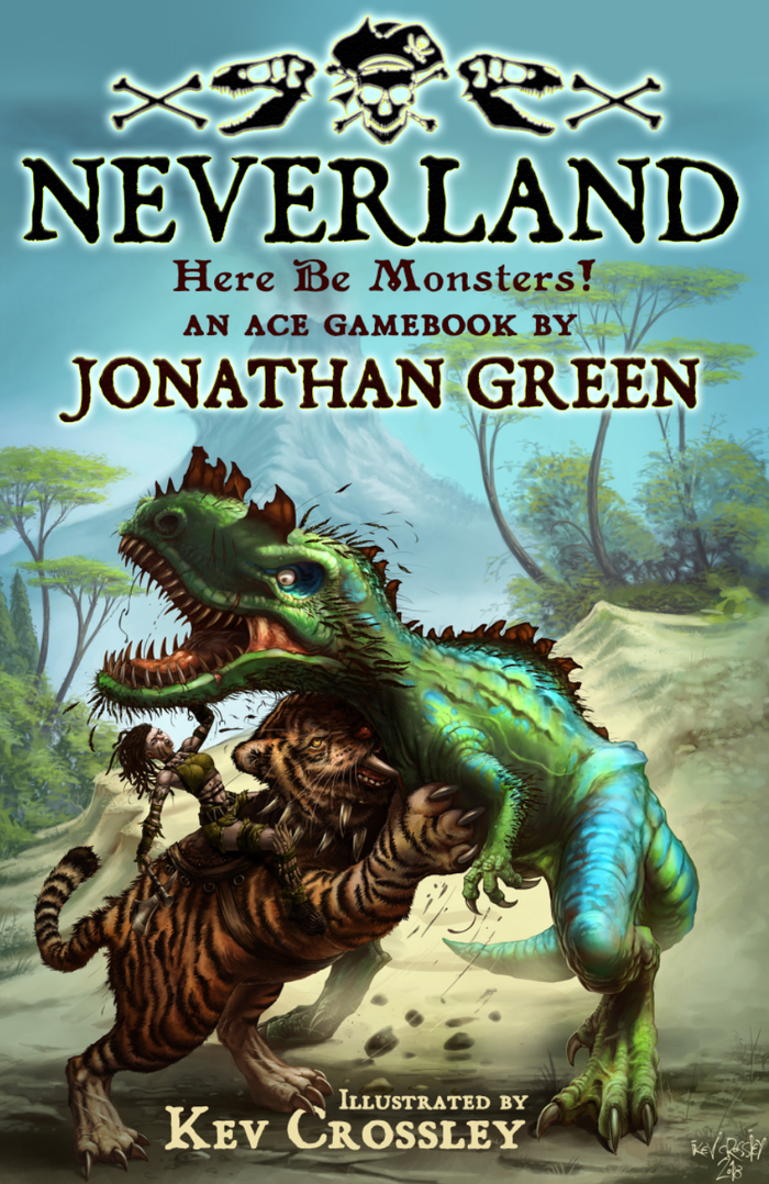 J. M. Barrie's 'Peter Pan and Wendy' meets Sir Arthur Conan Doyle's 'The Lost World' in this brand-new, thrilling gamebook adventure!