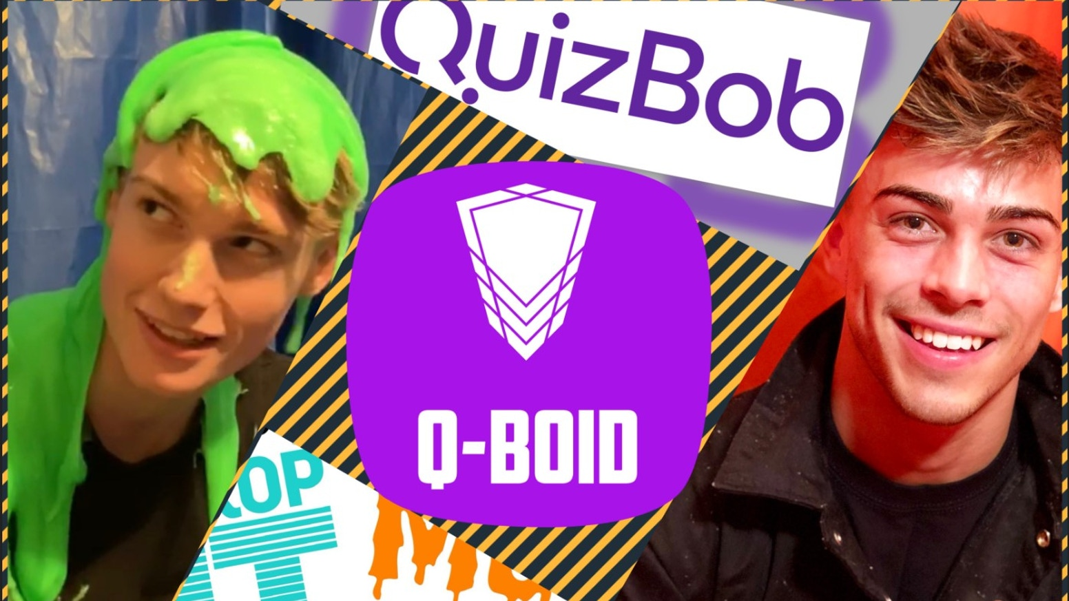 A shiny contraption commonly known as a GUNGE TANK, integral to our QuizBob Quizzes - will be available for backers to experience too!