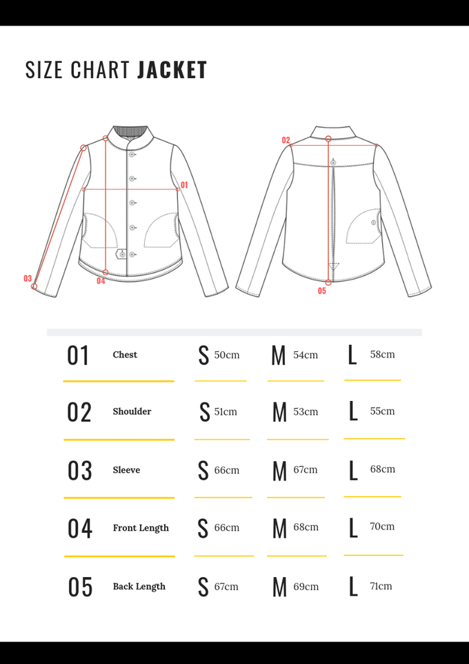 Measurements are representative of the garment not body measurements