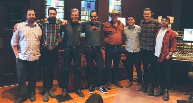 After the initial Midwestern recording sessions at Catherine North Studios in Hamilton, ON