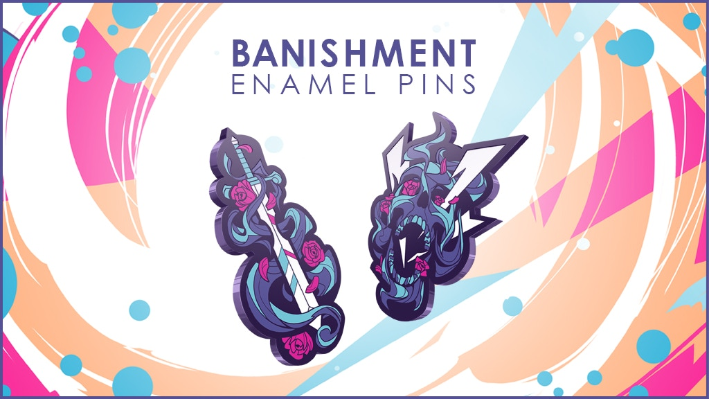 Banishment Collection Enamel Pins project video thumbnail