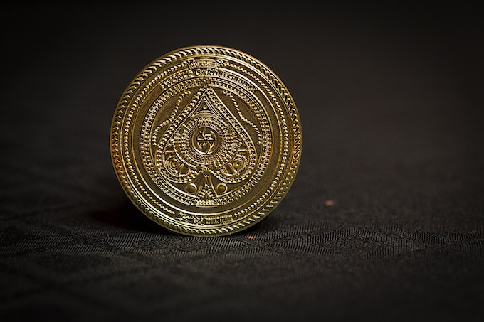 Limited and NUMBERED Gold colored Lordz coin