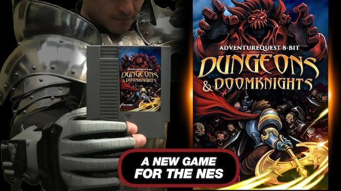DUNGEONS & DOOMKNIGHTS: An 8-bit AdventureQuest for the NES by Artix