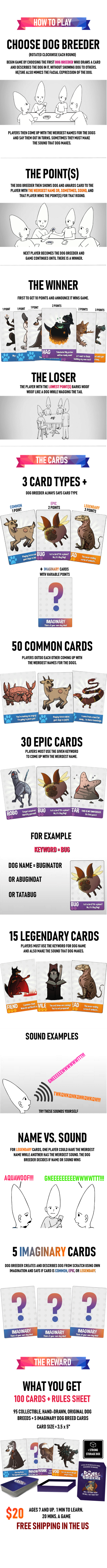 Dogs of the Galaxies - A Card Game About Intergalactic Dogs