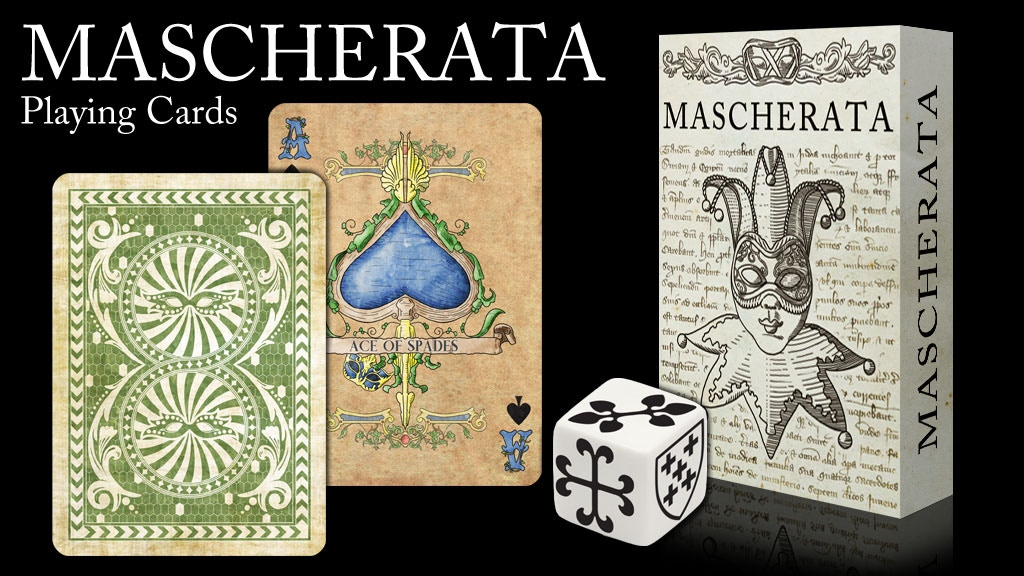 Project image for MASCHERATA playing cards LPCC