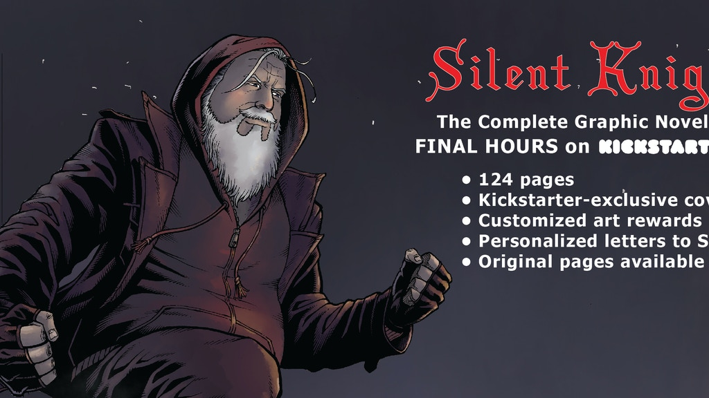 SILENT KNIGHT—The Complete Graphic Novel starring Santa project video thumbnail