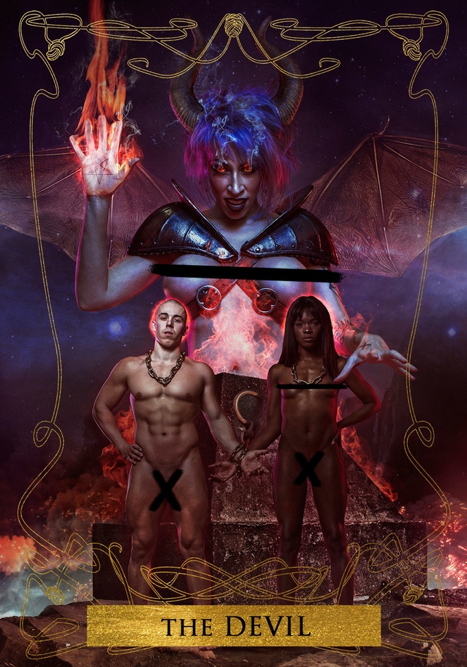 Vivid Vivka, Ana Fox and Candy Ken as THE DEVIL