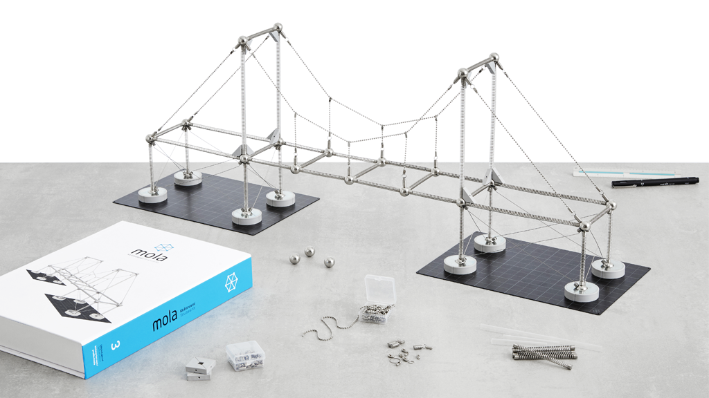 Mola Structural Kit 3: a new way to learn about structures project video thumbnail
