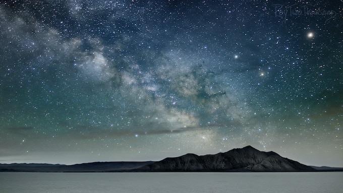 Razorback Milky Way