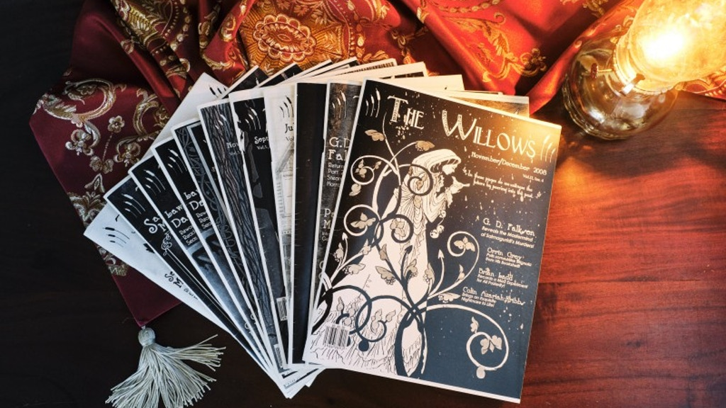 """""""The Willows Magazine"""" Hardcover Anthology project video thumbnail"""