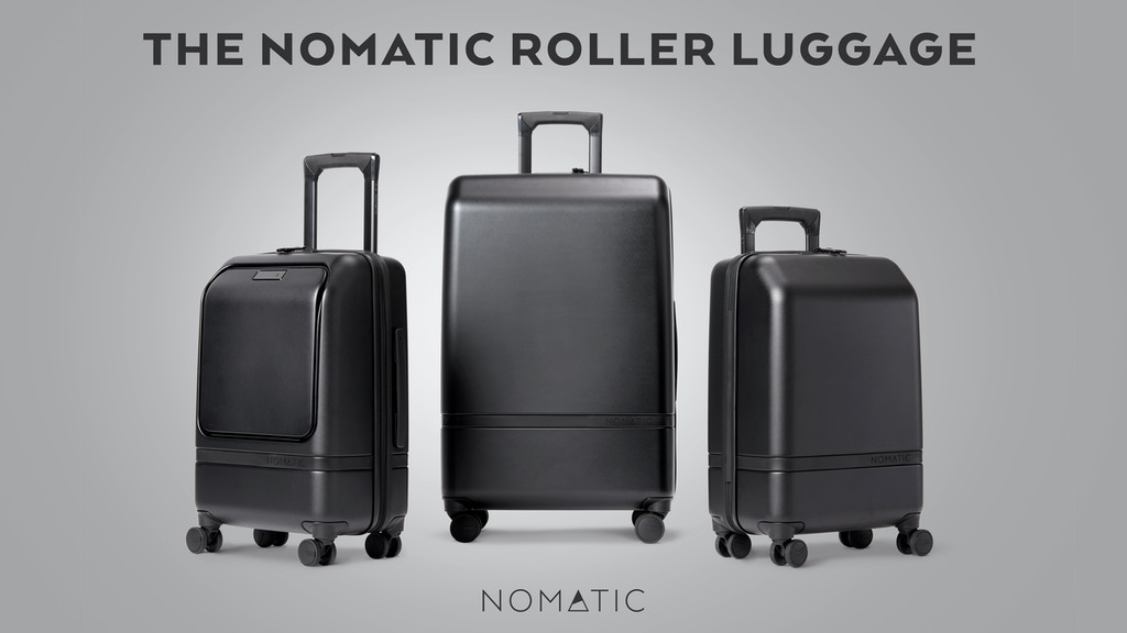 The NOMATIC Roller Luggage project video thumbnail