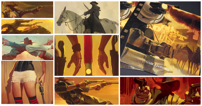 """RUST, DUST, & LUST"" Booklet - Newest Series of Oil Paintings"