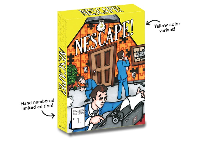 NEScape! Box Art (limited edition)