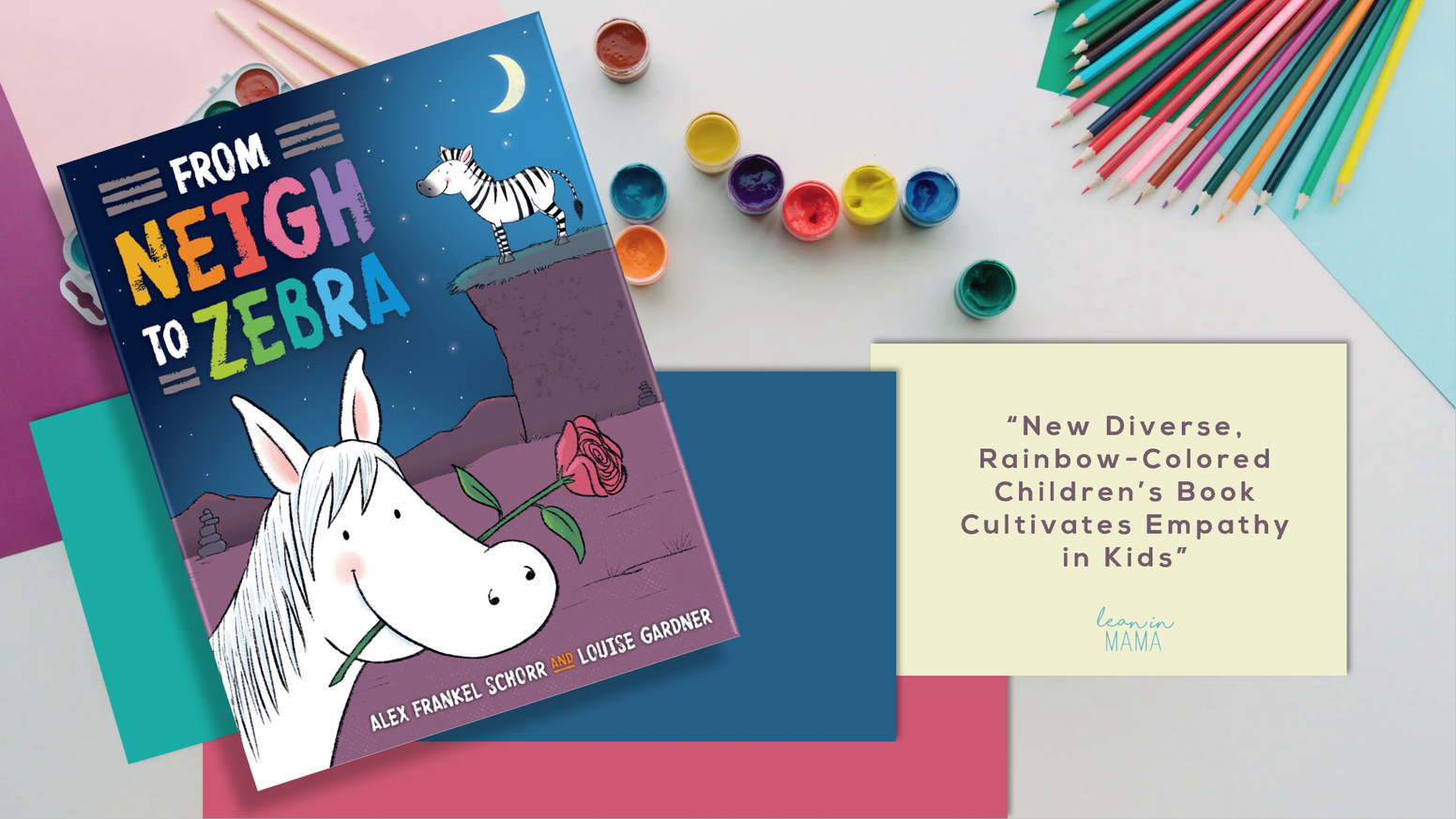 This whimsical read about diversity/acceptance is now funded! While our campaign has ended and books can no longer be bought here, you're welcome to email alex@rainbowzebra.co to see if you can still make it into our pre-orders before we go to print.