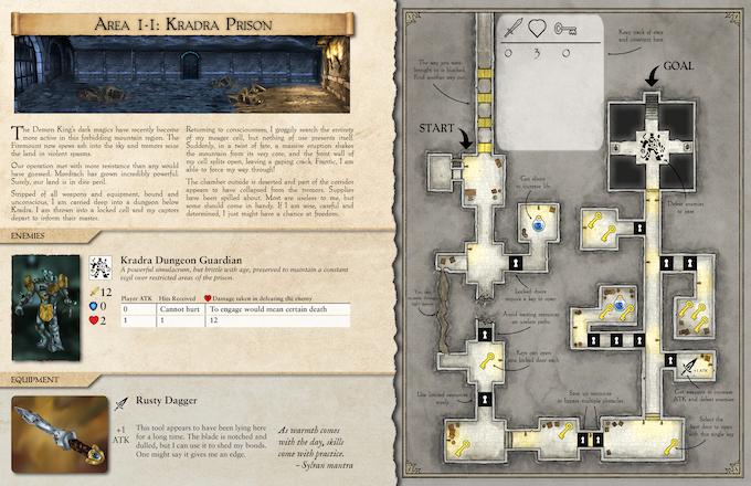 Tutorial Puzzle 1-1: Kradra Prison