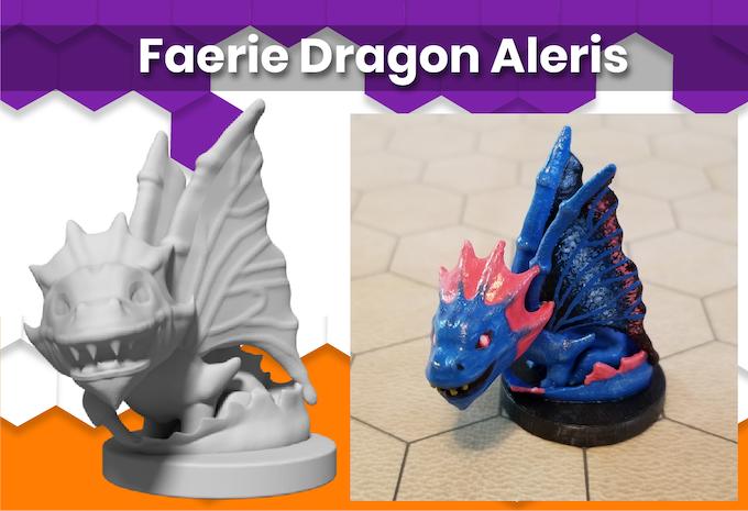 Anime Mini Faerie Dragon Aleris