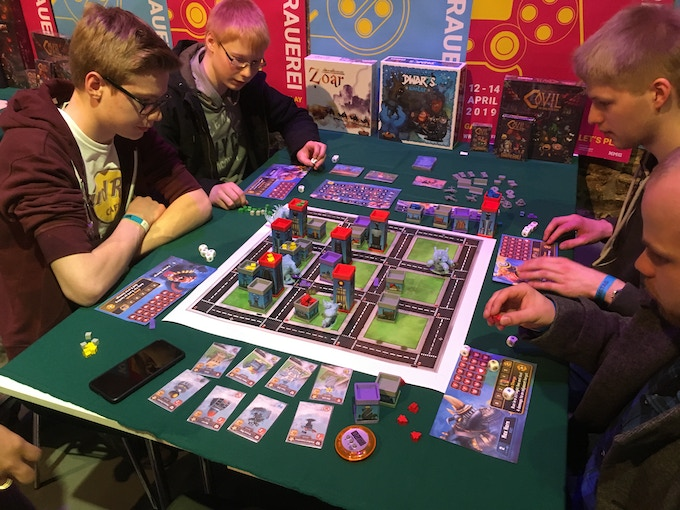 Prototype being played at Berlin's GameFest 2019