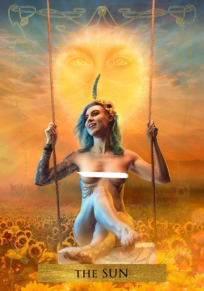Danika XIX as THE SUN