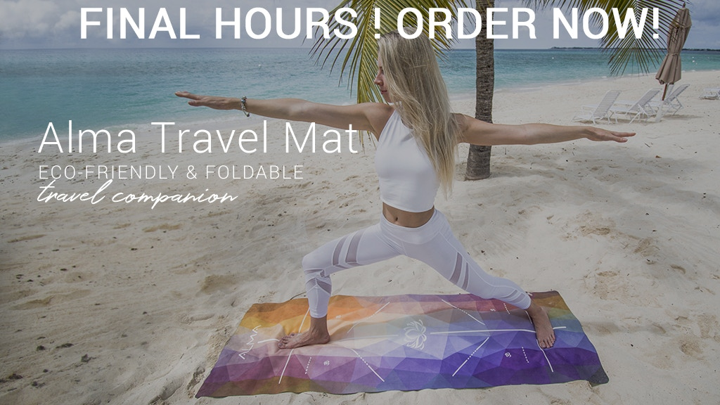 Revolutionary ALMA TRAVEL YOGA MAT with 16 Features project video thumbnail
