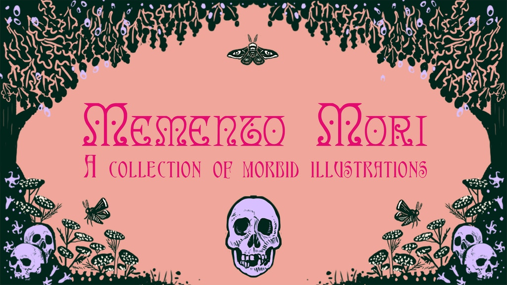 Memento Mori - A collection of Morbid Illustrations project video thumbnail