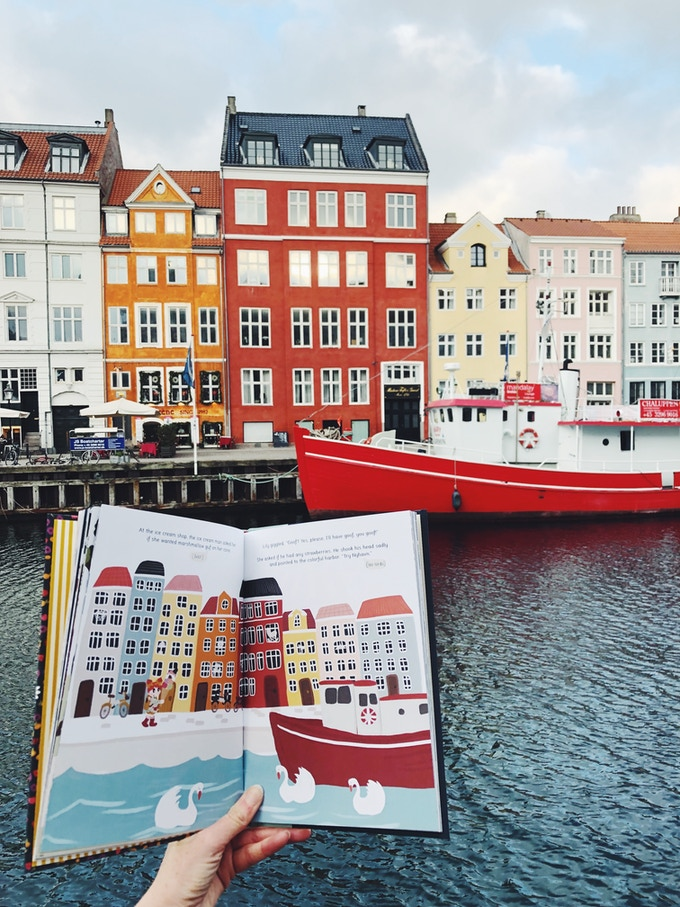 Our first Lily Huckleberry book: Lily Huckleberry in Scandinavia