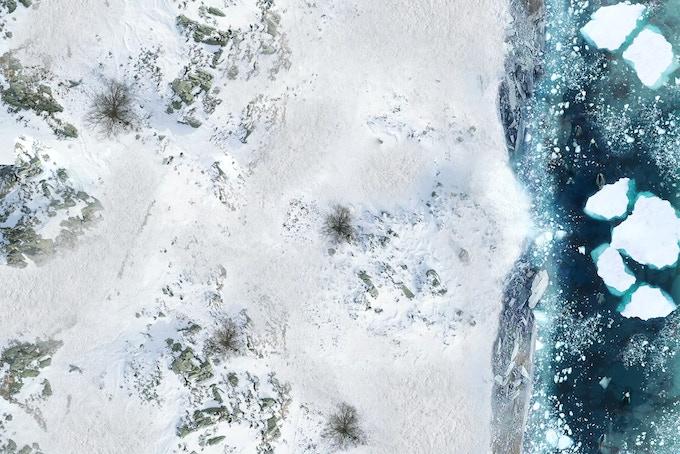 Battle mat : Glacier