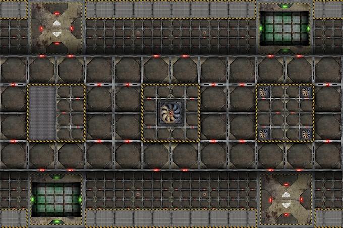Battle mat : SciFi