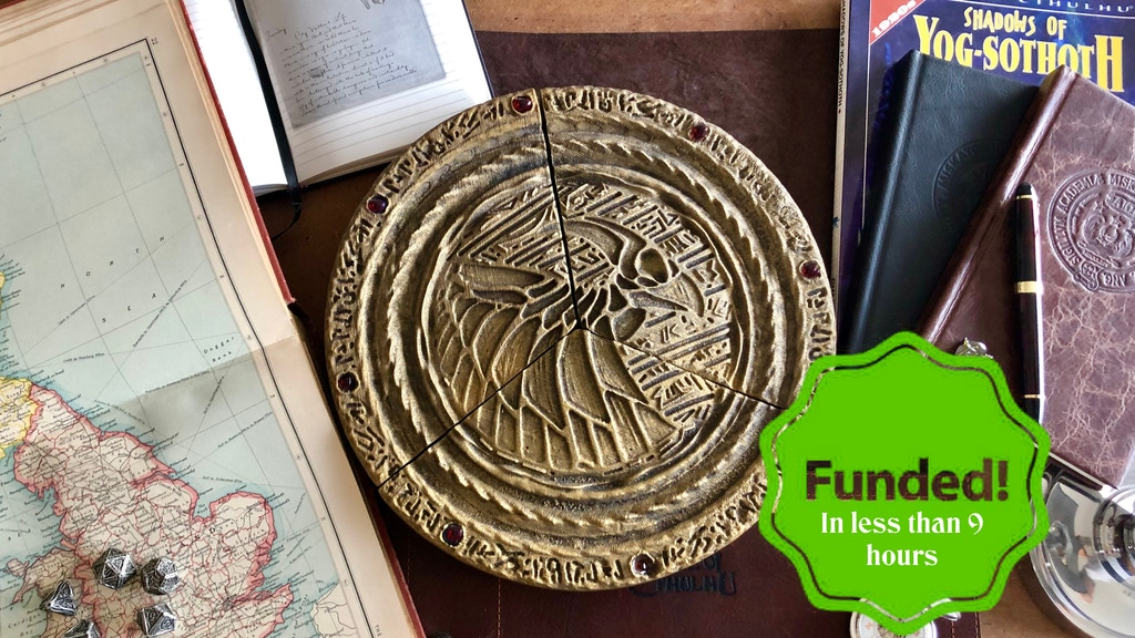 Disk of R'lyeh - Call of Cthulhu project video thumbnail