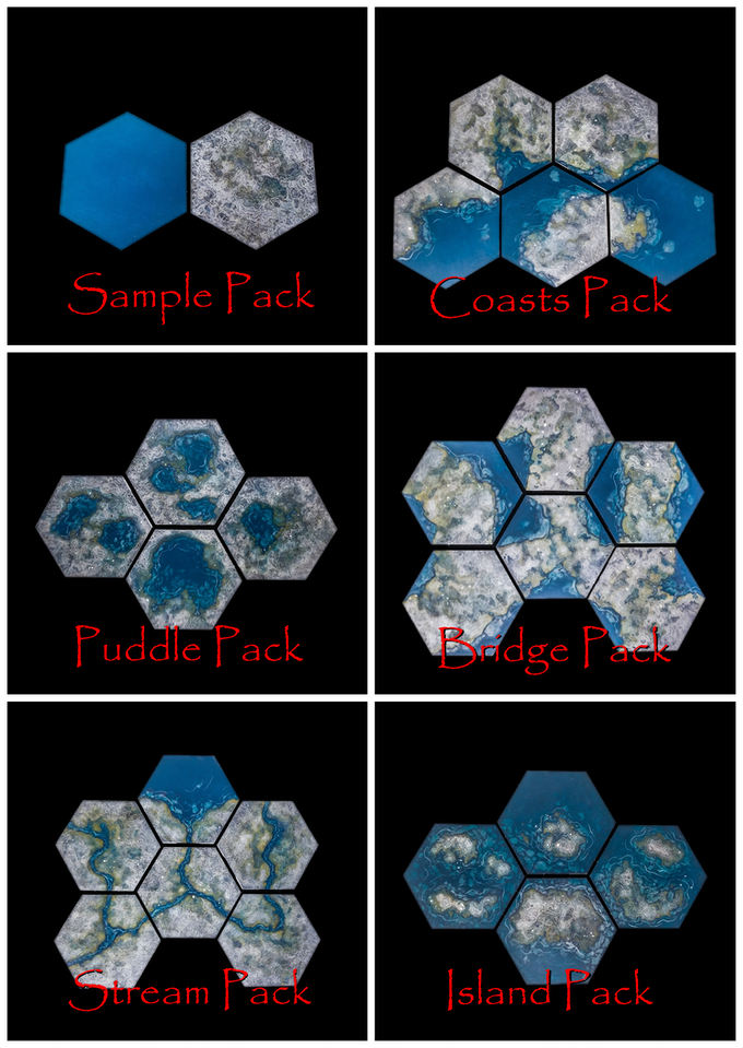 TerraScapes: Hextiles by David M  Higgins — Kickstarter