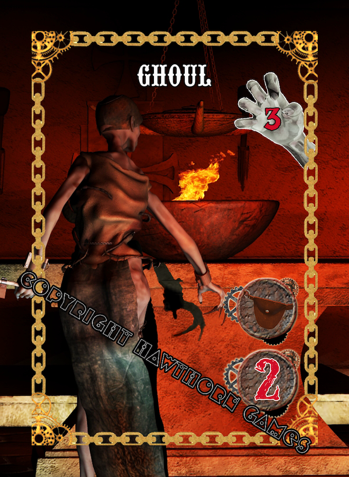 Ghoul Monster Card