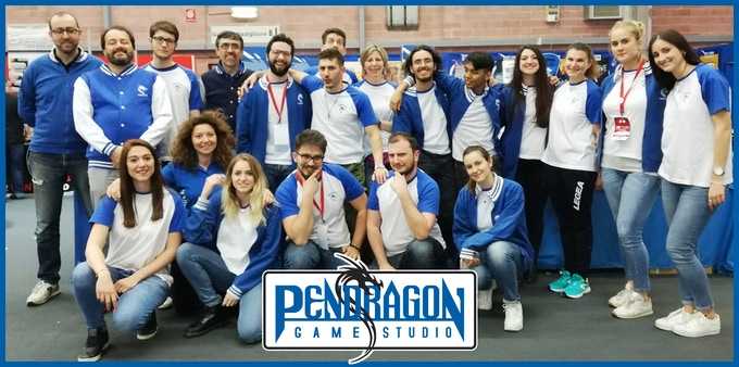 Pendragon Game Studio - Staff at Play 2019