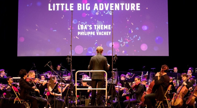 In 2017, Little Big Adventure was performed in live at the Grand Rex of Paris (by the Sinfonia Pop Orchestra and the conductor Constantin Rouits), under the direction of Philippe Vachey (composer) and Romain Dasnoy (producer). Everything is possible!
