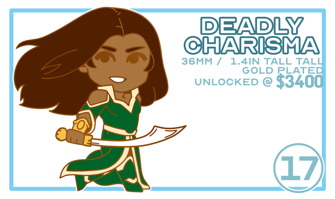 Deadly Charisma / Unlocked @ $3400