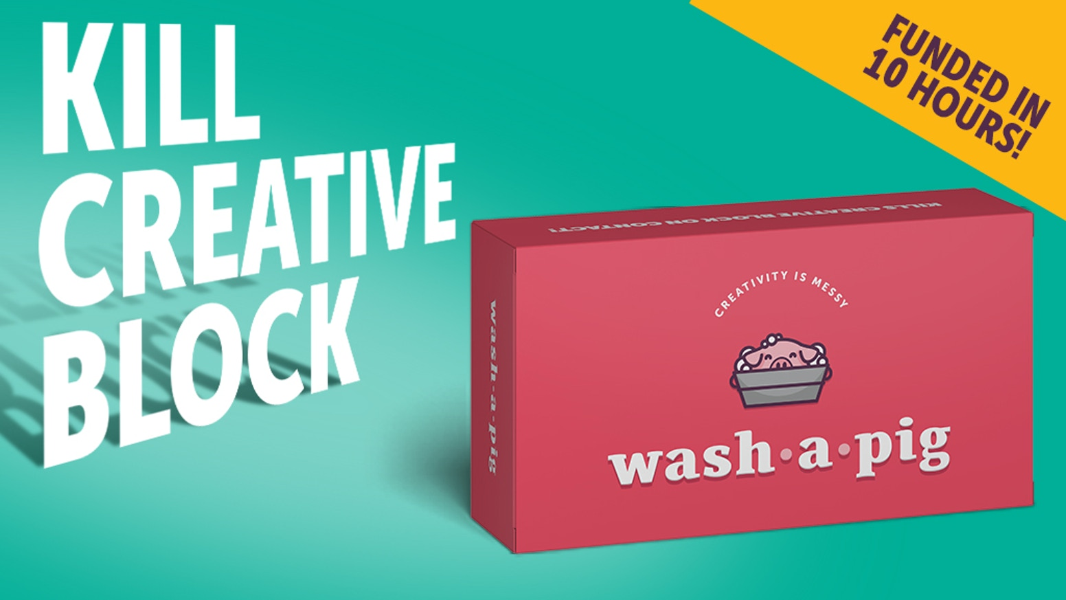 Finally, a card game for creatives that's kind of like work but isn't.