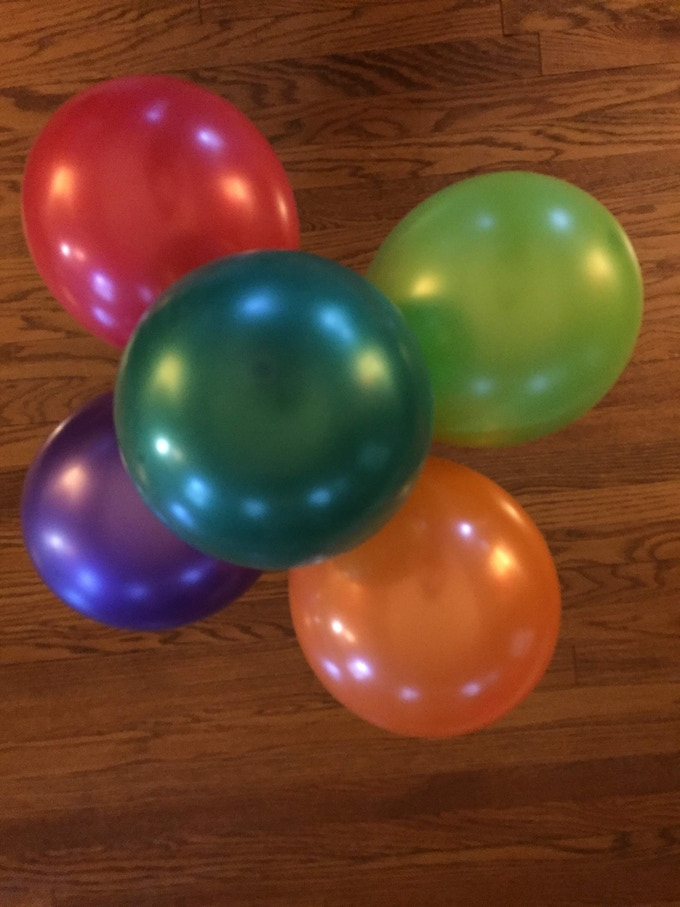Pearlized Balloons- Color Burst