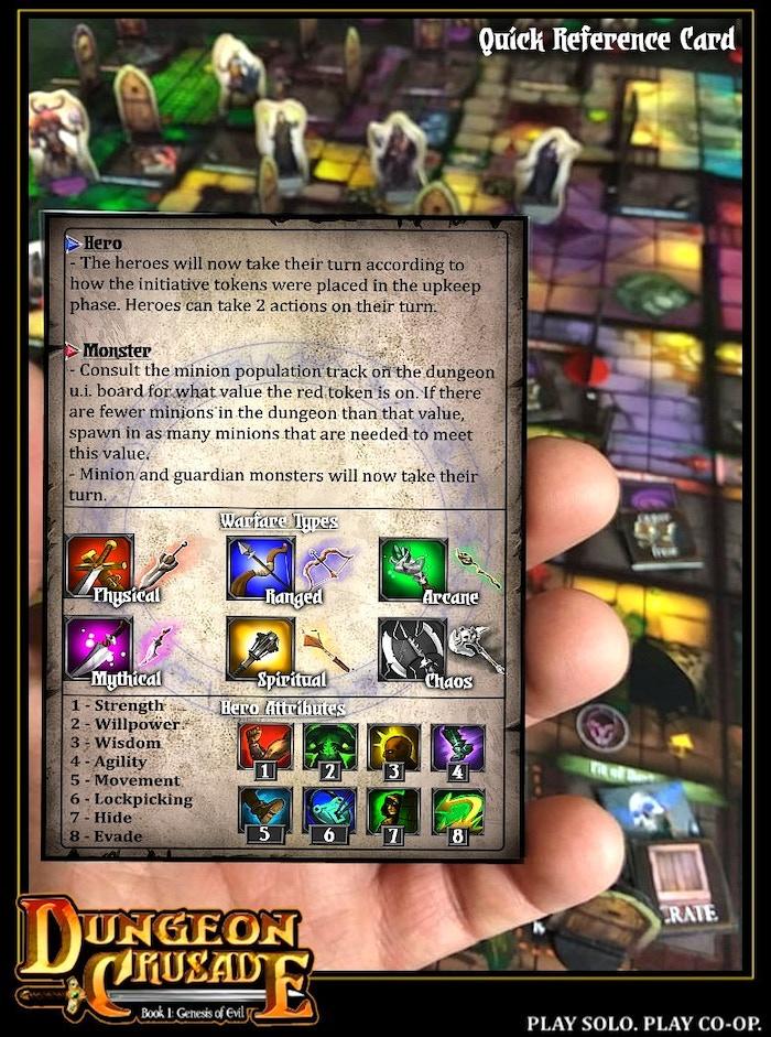 Dungeon Crusade - Book I: Genesis of Evil by Groovus Games Unlimited