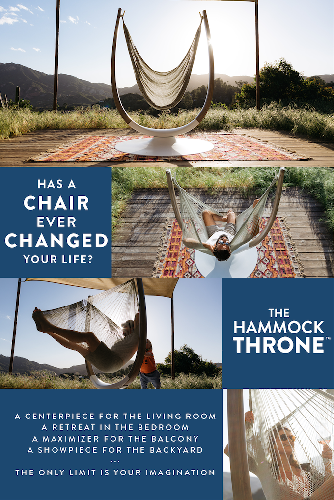 The Hammock Throne 👑 by Joe Demin — Kickstarter