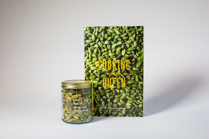 The Queen (100g) and Cooking with the Queen Zine ft. our favorite cardamom recipes!